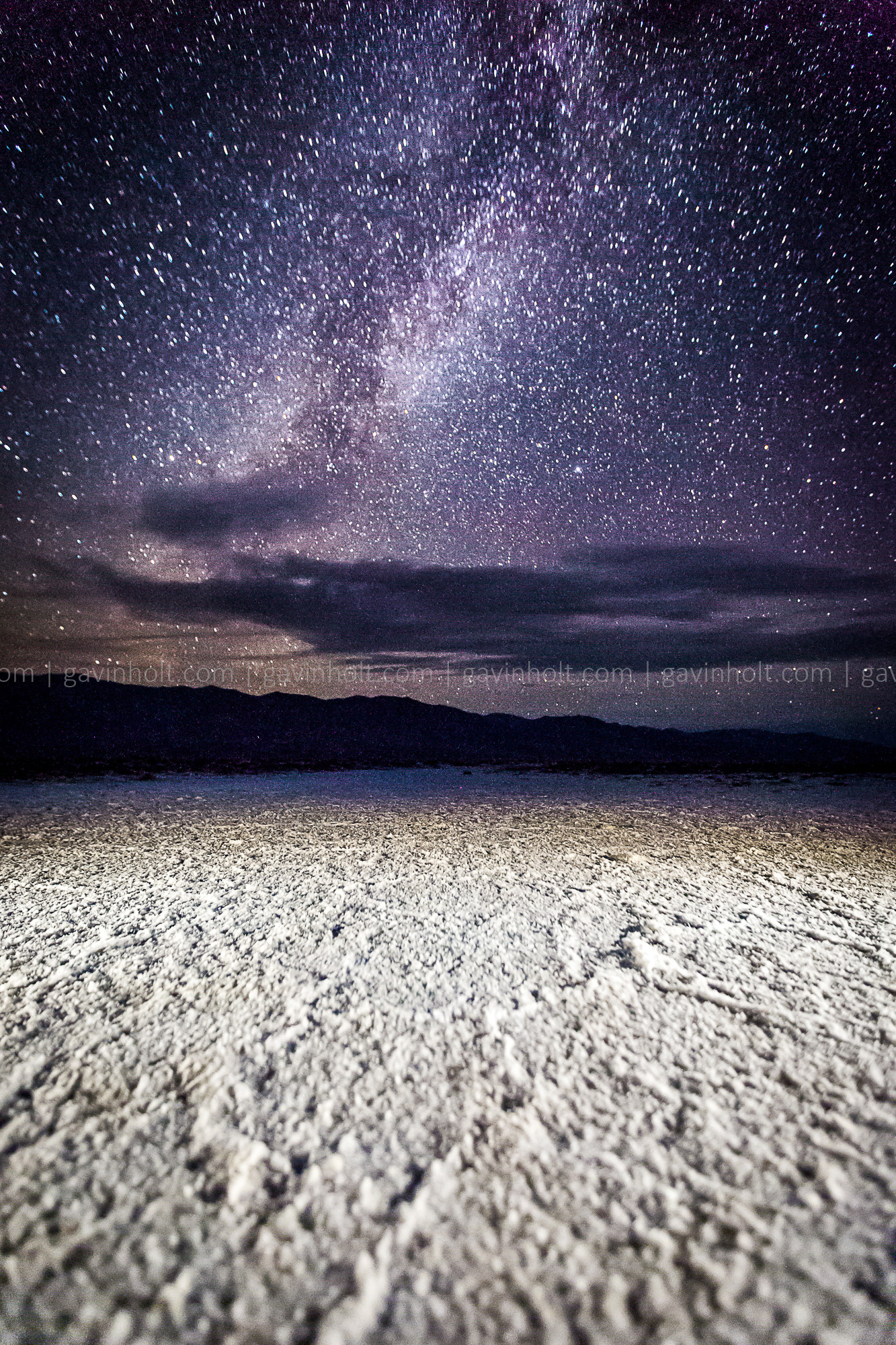 Astrophotography in Death Valley